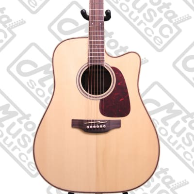 Takamine GD93CE-NAT Dreadnought Cutaway Acoustic-Electric Guitar, Natural, GD93CENAT for sale