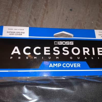 Boss Katana 100 2x12 amp Cover  Black