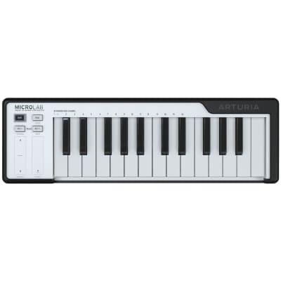 Arturia MicroLab 25-Key MIDI USB Keyboard Controller