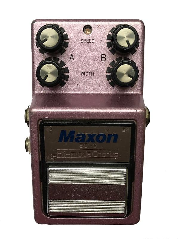 Maxon BC-9, Bi-mode Chorus, Made in Japan , 1983, Vintage Guitar Effect  Pedal