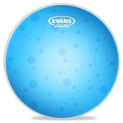 "Evans TT14HB Hydraulic Blue Drum Head - 14"""
