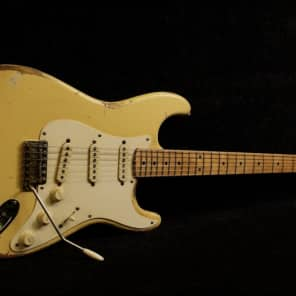 RebelRelic '55 S-Series Banana Relic Stratocaster Fender Custom Shop (Serial: 62098) for sale