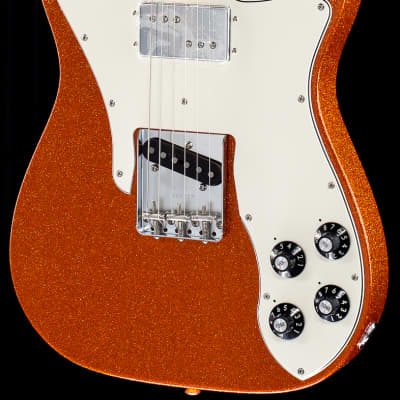 Fender Limited Edition Classic Series '72 Tele Custom Orange Sparkle (543)