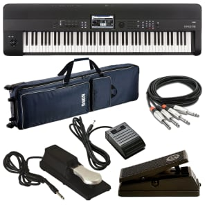 Korg KROME-88 Music Workstation STAGE RIG