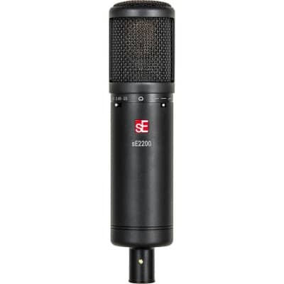 sE Electronics sE2200 Studio Condenser Cardioid Microphone with Isolation Pack (Demo Unit)