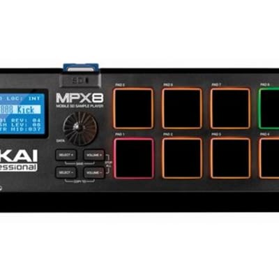 Akai MPX8 SD Sample Player Pad Controller