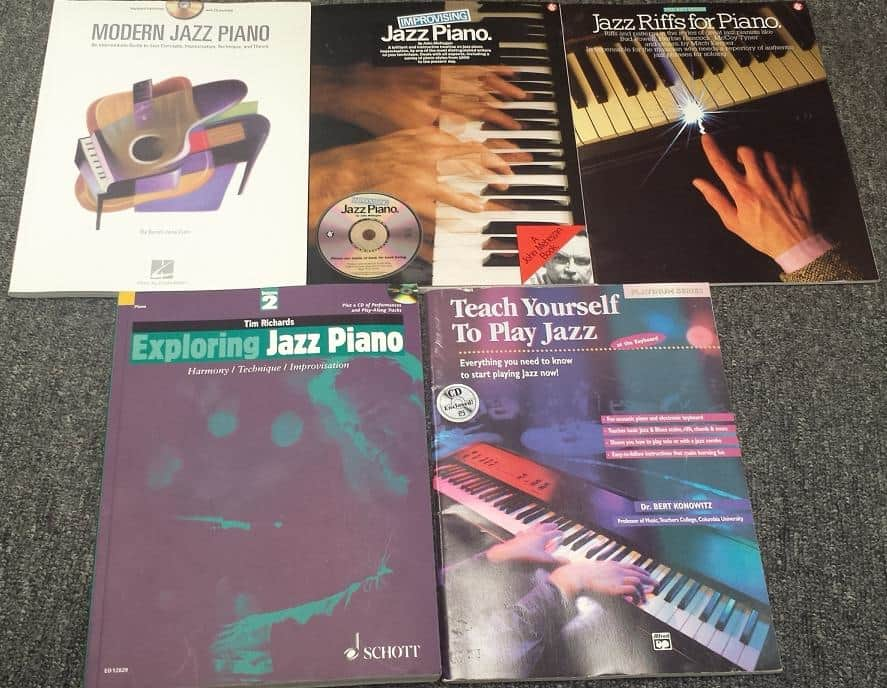 The Jazz Piano Book: Mark Levine: 9780961470159: Amazon ...