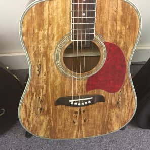 Oscar Schmidt OG2-SM Deep Dreadnought Spalted Maple