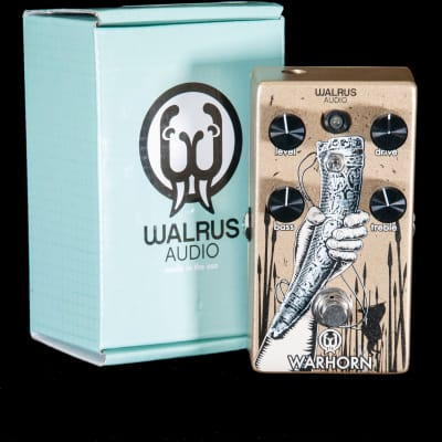 Walrus Audio Warhorn Overdrive Pedal for sale