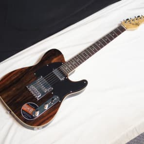 MICHAEL KELLY 1950s Series 1955 electric GUITAR Dark Striped Ebony - blemished for sale