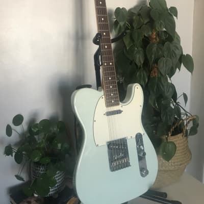 Fender American Standard Telecaster Channel Bound Sonic Blue 2014 (limited edition) for sale