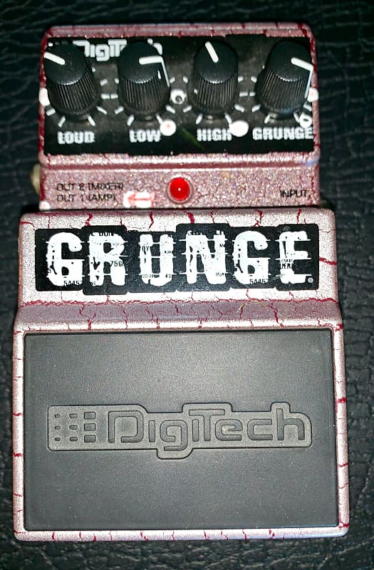 digitech grunge distortion guitar effects pedal reverb. Black Bedroom Furniture Sets. Home Design Ideas