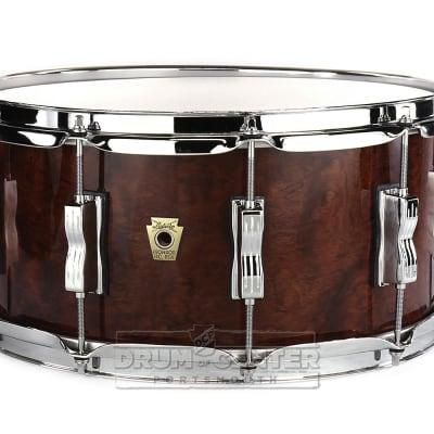 Ludwig Classic Maple Snare Drum 14x6.5 - Bubinga Gloss