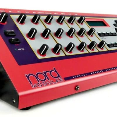 Clavia Nord Modular Synthesizer DSP Synth High-End MIDI +Sehr Gut+ Garantie