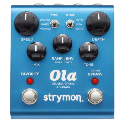 Strymon Ola dBucket Chorus & Vibrato Pedal