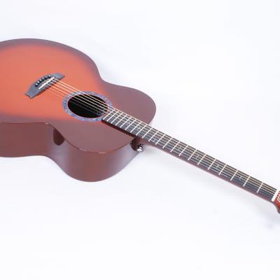 RainSong CO-JM1000N2T Jumbo With Unidirectional Top Sunburst Finish LR Baggs @ LA Guitar Sales.