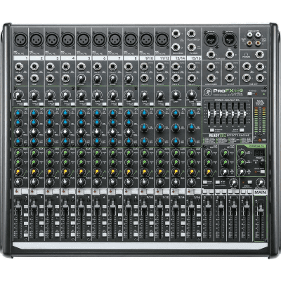 Mackie ProFX16v2 16-Channel 4-Bus Effects Mixer