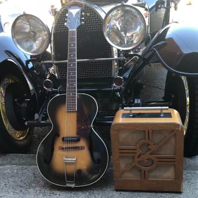 EpiphoneTop  & Electar  Amp 1941 Sunburst  Guitar Timber Amp