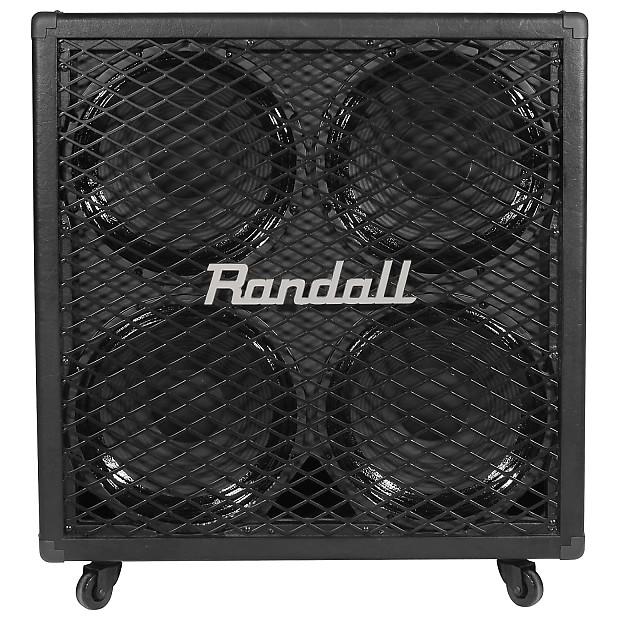 randall rg412 guitar speaker cabinet 200 watts 4x12 reverb. Black Bedroom Furniture Sets. Home Design Ideas