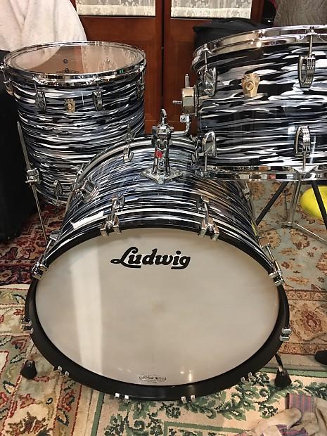 efb4fbcf7a98 Ludwig Fab Four Ringo Classic Maple USA Oyster Black Pearl