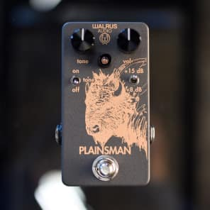 WALRUS AUDIO PLAINSMAN DUAL STAGE BOOSTER for sale