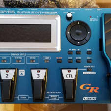 Roland GR-55 2014 2 Tone Silver Blue