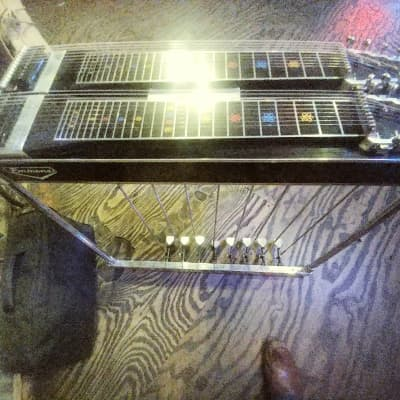 Emmons Pedal Steep Guitar 1964 Push Pull. Converted  1964-1965 Black for sale
