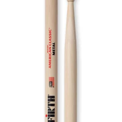 Vic Firth CM Classic Metal Wood Tip Drumsticks