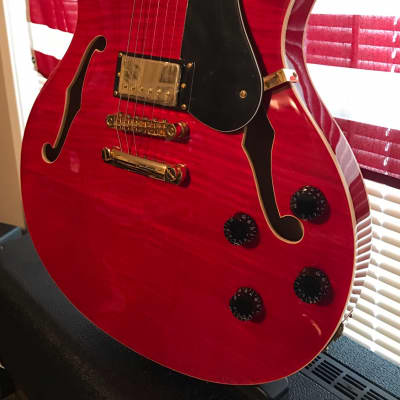 Peavey JF-1 2018 Red flametop for sale