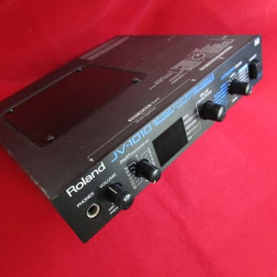Roland JV-1010 64Voice Synthesizer module w/ SR-JV80-03 PIANO expansion board & PSU