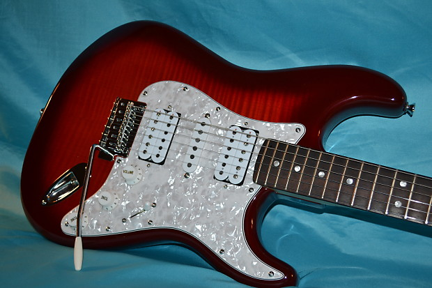 squier deluxe stratocaster hsh 2014 reverb. Black Bedroom Furniture Sets. Home Design Ideas