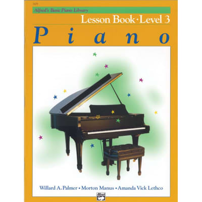 Alfred's Basic Piano Library: Lesson Book - Level 3