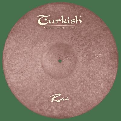"Turkish Cymbals 22"" Raw Dark Ride"