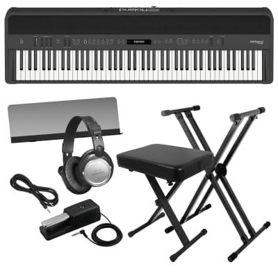 ROLAND FP-90 DIGITAL PIANO - BLACK KEY ESSENTIALS BUNDLE