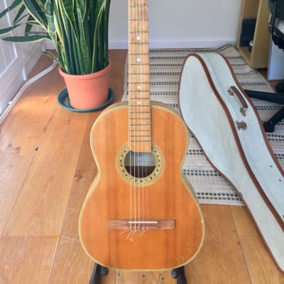 Antoria Classical Guitar 1950s Wood for sale
