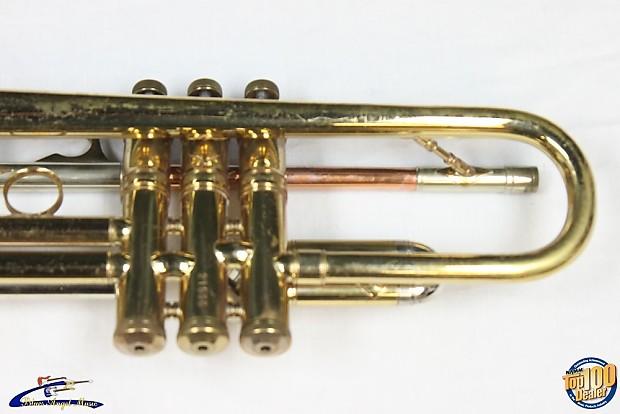 Vintage Chris Kratt Trumpet W Hsc Ar Huettl Union Nj