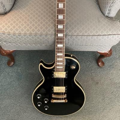 1970s Bradley L P Custom Lefty  Black MIJ for sale