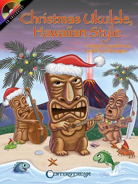 Christmas Ukulele, Hawaiian Style, Book/Cd Pack