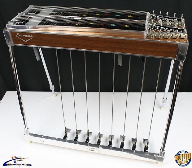 vintage early 39 70s emmons d10 double neck pedal steel guitar reverb. Black Bedroom Furniture Sets. Home Design Ideas