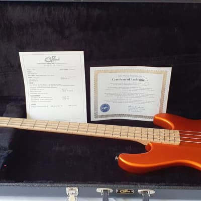 US G&L L-2000 Tangerine Custom + OHSC