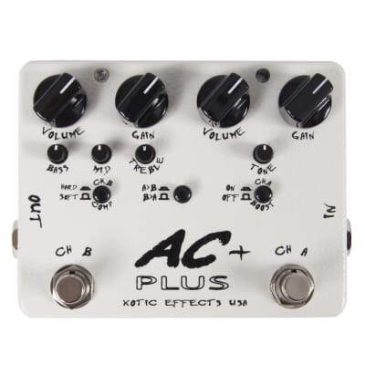 Xotic AC plus Dual Channel Booster/ Overdrive Effektpedal for sale