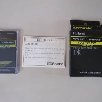 Roland SN-R8-02 Jazz Brush - Sound Data ROM for R8