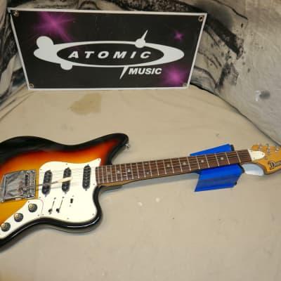 Domino Spartan Electric Guitar - All-Original - Vintage - MIJ Japan - Sunburst for sale