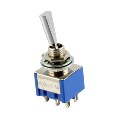AllParts On-Off-On Mini Switch - Chrome for sale