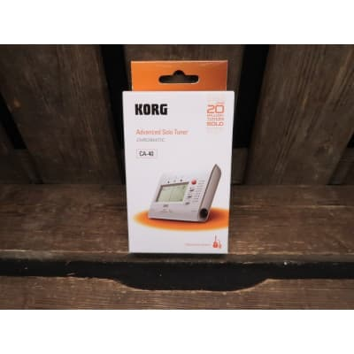 Korg CA-40 Advanced Solo Tuner chromatic (new) for sale