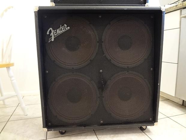 fender roc pro 1000 half stack w three way pedal black reverb. Black Bedroom Furniture Sets. Home Design Ideas