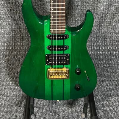 Hohner HS90SN Electric Guitar Translucent Green for sale