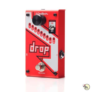 Digitech Drop Polyphonic Drop Tune Pedal Pitchshifter