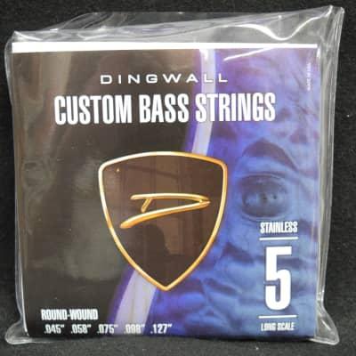 Dingwall Steel Round Wound (5 String) 45-127 *On Order ETA=January 2021