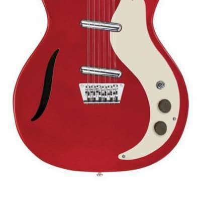 Danelectro D59-12 - Vintage 12 Strings in Metallic Red